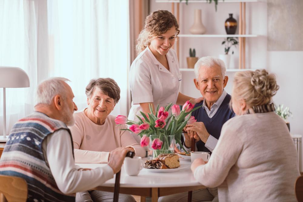 Personas mayores en Valdihuertos